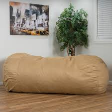 Details About 8FT Huge Adult Bean Bag Chair Extra Large Oversized Dorm  Lounger Sleeper Foam XL
