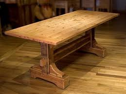 Rustic Wood Dining Table Plans Woodworking Projects Amp Build Your Own