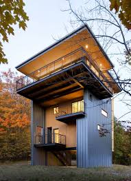 104 House Tower Sustainable Retreat By Prentiss Balance Wickline Architects