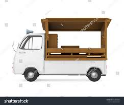 Japanese Food Truck Isolated Side View Stock Illustration - Royalty ...