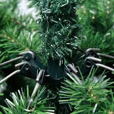 6ft Slim Black Christmas Tree by 6ft Slim Glacier Fir Pencil Pine Artificial Christmas Tree