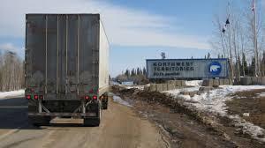 100 Northwest Trucking Ice Road MacKenzie River NT Canada YouTube