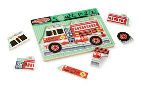100 Melissa And Doug Fire Truck Puzzle Amazoncom Sound Wooden Peg