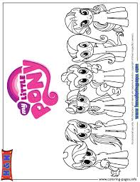 My Little Pony Equestria Girls Coloring Pages Printable