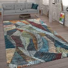 wohnzimmer teppich pastellfarben kreide look bunt
