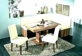 Dining Room Bench Corner Table With Set Small Space