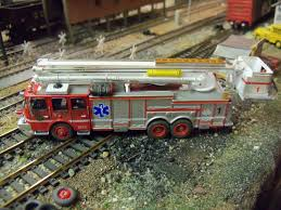 100 Custom Lego Fire Truck HO 187 Kitbash E One Snorkel 1 Ladder Rescue