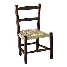 chaise enfant en bois chaise enfant paille bois foncé la vannerie d aujourd hui