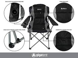 Outdoor Camping Chair - Lightweight, Portable Design (Black) | Gigatent Top 10 Best Camping Chairs Chairman Chair Heavy Duty Awesome Luxury Lweight Plastic Heavy Duty Folding Chair Pnic Garden Camping Bbq Banquet 119lb Outdoor Folding Steel Frame Mesh Seat Directors W Side Table Cup Holder Storage 30 New Arrivals Rated Oak Creek Hammock With Rain Fly Mosquito Net Tree Kingcamp Breathable Holder And Pocket The 8 Of 2019 Plastic Indoor Office Shop Outsunny Director Free Oversized Kgpin Arm 6 Cup Holders 400lbs Weight