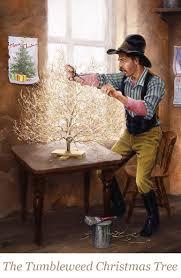 Tumbleweed Christmas Trees by Christmas The Old West Art Of Jack Sorenson