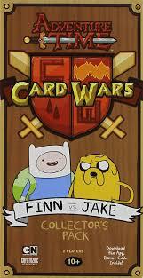 Mtg Sealed Deck Simulator by Amazon Com Adventure Time Card Wars Finn Vs Jake Cards Toys