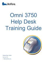 omni 3750 help desk training guide by dan thrash issuu