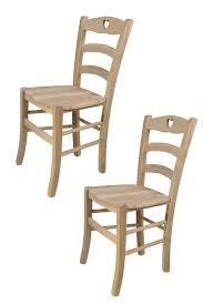 t m c s tommychairs 2er set stühle cuore für küche und esszimmer robuste struktur aus poliertem buchenholz unbehandelt und 100 natürlich