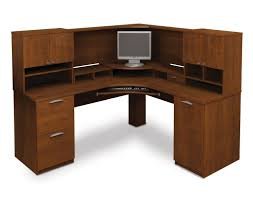 Bush Vantage Corner Desk Dimensions by Furniture Appealing Tall Narrow Corner Computer Desk With Black