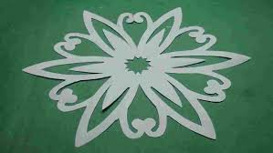 How Paper Cutting Flower Designs Patterns Step By To Make Simple Ueasy