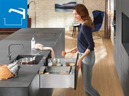 ideen für praktische küchen blum