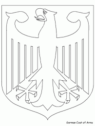 Germany Coloring Page 18 Eagle Pages Book
