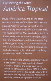américa tropical mural on olvera street raven jake dawes