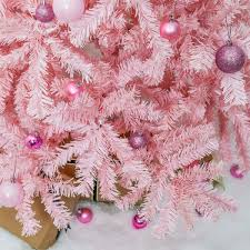 Artificial Christmas Trees Uk 6ft by Pink Artificial Christmas Tree
