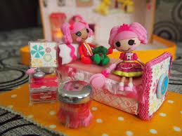 Lalaloopsy Bed Set by Scrappalific Diy Lalaloopsy Dollhouse