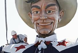 Notoriety Big Tex Has Been A Central Part Of The Fair For Past 60