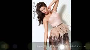 macktakmart com jovani couture feather dresses new york