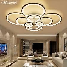 remote ceiling lights modern for living room bedroom