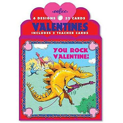 Eeboo Valentine Card Set - 32ct