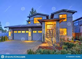 100 Outside House Design Grey Luxury Modern Two Story Tall Exterior With Stone