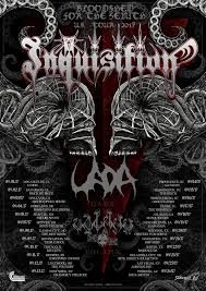 Tainted Halloween Candy Toronto by Inquisition Add Us Tour Dates Announce Headlining Latin American