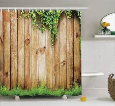 99 Fresh Home Decor Amazoncom Ambesonne Rustic Shower Curtain Spring