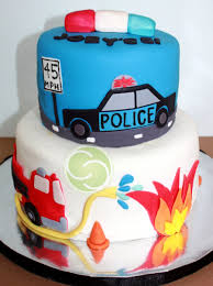 100 Fire Truck Birthday Cake Police Car And Themed 5Th Centralcom