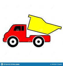 100 Kids Dump Truck Toy Truck Clipart Stock Vector Illustration Of
