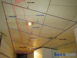 faire un faux plafond avec spot luminaire cuisine plafond