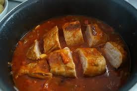 comment cuisiner le filet mignon de porc filet mignon aux poivrons et tomates dans la cuisine de françoise