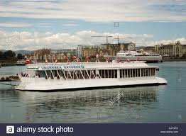 Pacific Undersea Gardens tour boat in the Inner Harbour of