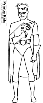 Stylish Decoration Batman And Robin Coloring Pages 2874