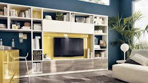 View In Gallery Living Room Wall Unit With Versatile Storage Solutions