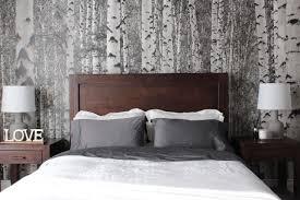 chambre foret la chambre de josée avec une murale de forêt déconome