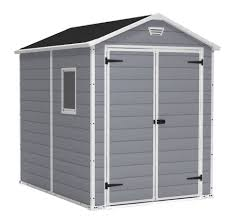 Suncast 7 X 7 Alpine Shed by Keter Factor 8 U0027 X 11 U0027 Resin Storage Shed All Weather Plastic