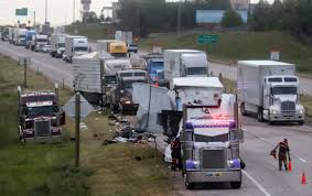 Driver In Semi-truck Crash Cited For Improper Lane Use | Local News ... Kansas Missouri Semi Truck Crash Attorney Accidents Happen Semitruckaccidentorg Risky Commercial Maneuvers Cause Dolman Law Group Truck Crash Compilation 2 Semi Trucks Driving Fails Youtube Video Appears To Show Live Cow Scooped Up In Dump Truck After Semi Train Crashes Into Fedex Cnn Warrant Issued For Driver Of Truckbuilding Crash South Platte Video Semitruck Loses Control Gas Station Cajon Driver Critically Injured Wreck Volving Two Semitrucks West Pigs Involved Accident News Sports Jobs The Times Leader Drowsy Driving Leads Fatal At Nevada Causes Wide Turn Wrecks On Texas Roads Hart Firm