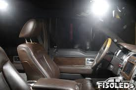 2009 - 2014 F150 Front Interior LED Lights - F150LEDs.com