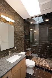 Contemporary Spa Like Bath Remodel With Steam Shower