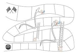 Snakes And Ladders Blank