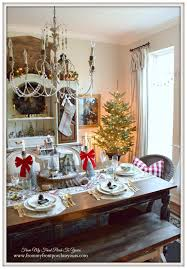 French Country Dining Room Ideas by From My Front Porch To Yours Farmhouse Christmas Dining Room