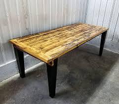 table de cuisine en bois massif tables bars comptoirs et îlots granby rustik meubles design