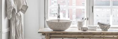 wasserfestes holz fürs badezimmer stylische design waschbecken