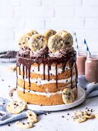 chocolate chip cookie torte s lieblingsstücke