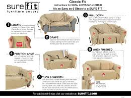 Sure Fit Sofa Slipcovers by Sure Fit Slipcovers Chair U2013 Coredesign Interiors