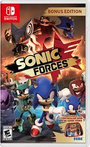 Sonic Forces Box Art